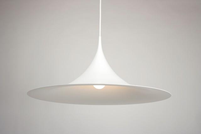 Deckenleuchte, Design Fog & Mörup, Denmark, Metall, weiss