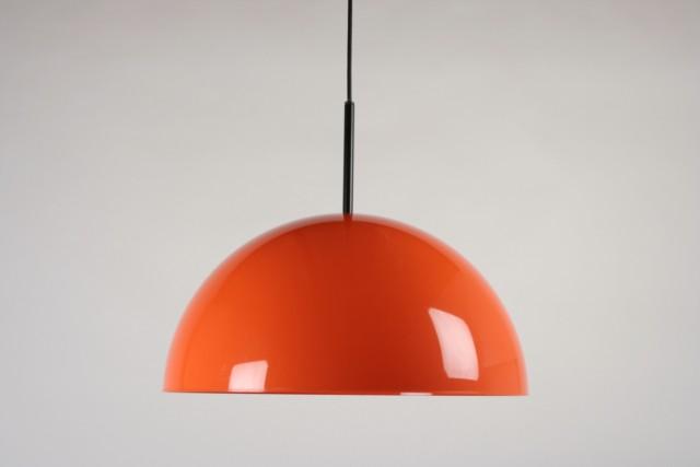 Deckenleuchte Kunststoff, orange