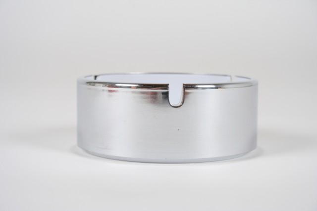 Aschenbecher, Kunststoff, weiss