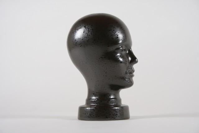 Büste strukturiert schwarz